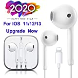Lighting Connector Earbuds Earphone Wired Headphones Headset with Mic and Volume Control,Great Sound,Compatible with Apple iPhone 11 Pro Max/Xs Max/XR/X/7/8 Plus Plug and Play Microscope Lenses