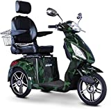 E-Wheels - EW-36 Elite Scooter with Electromagnetic Brakes - 3-Wheel - Camouflage - Phillips Power Package TM - to $500 Value