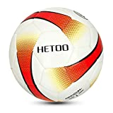 hetoo Waterproof Soccer Ball, Most Reasonable Construction Technology Football for Adult and Kids, Best Outdoor Sports Practice Soccer Ball-Size 5 4 3 (Size 4)