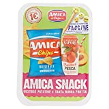 Amica Chips Snack Snack Patatine e Succo - 20 gr