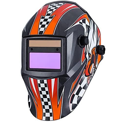 XINAYUEJP Careta Soldar Automatica, Oscurecimiento Soldador Máscara de Soldador Máscara de la Seguridad de Soldadura, para Soldadura, Industria de la Construcción