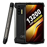 Rugged Smartphone, 13200mAh Large Battery, Ulefone Power Armor 13 8GB + 256GB Android 11 FHD+ 6.81', Octa-core 48MP Quad Camera, NFC OTG Wireless Reverse Charging, IP68 Waterproof Unlocked Cell Phone
