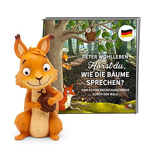 tonies Hörfigur für Toniebox, Peter Wohlleben – Hörst du wie die Bäume sprechen?, Hörspiel für Kinder ab 6 Jahren, Spielzeit ca. 141 Minuten
