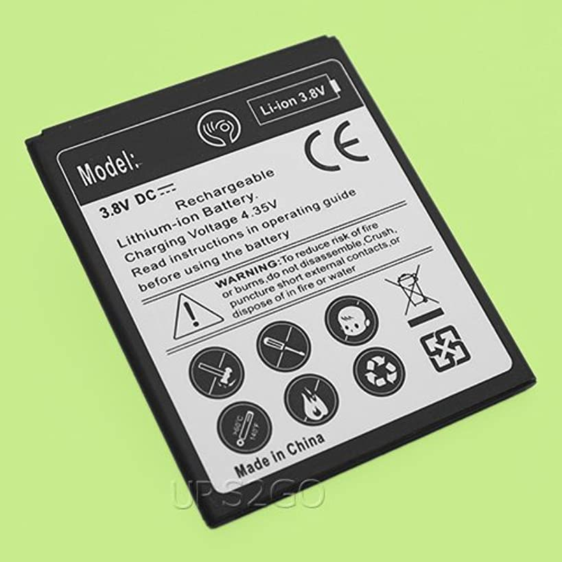 Extended Slim Extra Grade A 2400mAh Battery for ZTE Tempo X N9137 Boost Mobile Cellphone - Shipping from USA