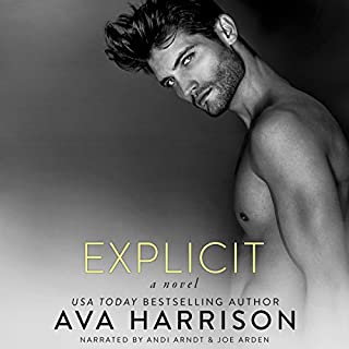 Explicit audiobook cover art