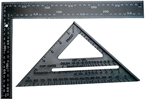 Performance Tool 1477 Square Speed Carpenter Framing Measuring Tool Set