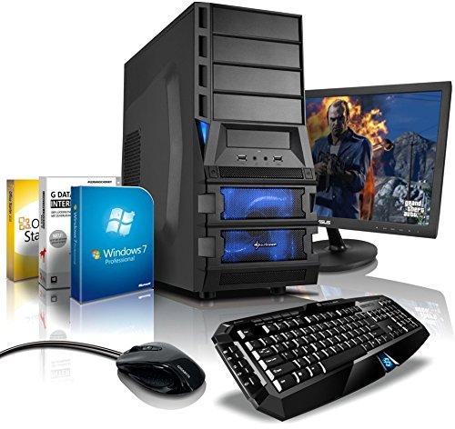 Komplett-PC Gaming-PC Hexa-Core AMD FX-6300 6x3.5GHz (Turbo bis 4.1GHz), 22