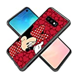 Cell Phone Case Fit for Galaxy S10e (2019) (5.8-Inch) Minnie Mouse Bow-Knot Rose