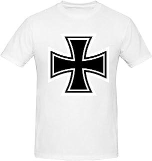 Iron Cross 3D Printed Summer Casual Short Sleeve T Shirts Men Top Tees S-XXL
