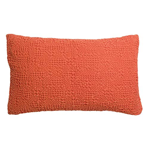 Vivaraise – Cojín Tana con relleno suave – Funda de almohada lavable – Funda extraíble – Accesorio de decoración – 100% algodón Stonewashed – tejido de nido de abeja