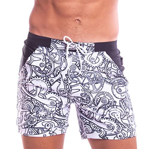 TADDLEE Costume da Bagno Uomo Costume Mare Uomo Slip Costumi Piscina Nuoto Bagno Parigamba
