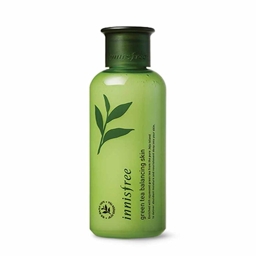 シュリンクコメントもろいイニスフリーグリーンティーバランシングスキン200ml Innisfree Green Tea Balancing Skin 200ml [海外直送品][並行輸入品]