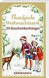 Geschenkanhänger-Blöckchen – Nostalgische Weihnachtszeit: 24 Geschenkanhänger