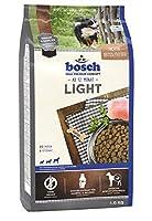 ボッシュ ライト 1歳以上 体重過多・ダイエットが必要な犬用総合栄養食 全犬種用 ハイプレミアム ドッグフード 1kg