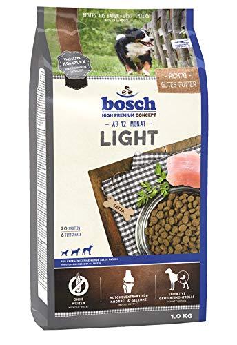 bosch HPC Light | Alimento seco para perros con sobrepeso de todas las razas | 1 kg