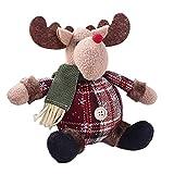 YOLEABY クリスマスの木の装飾品 かわいいサンタ雪だるま鹿形状雛人形クリスマス装飾品プレゼント雛人形クリスマスツリーぶら下がりオーナメント ユニバーサル