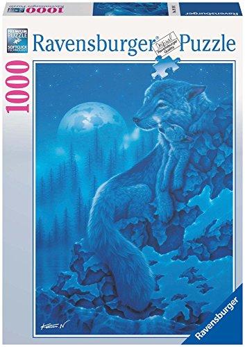 Ravensburger 19119 - Wolfsnacht - 1000 Teile Puzzle