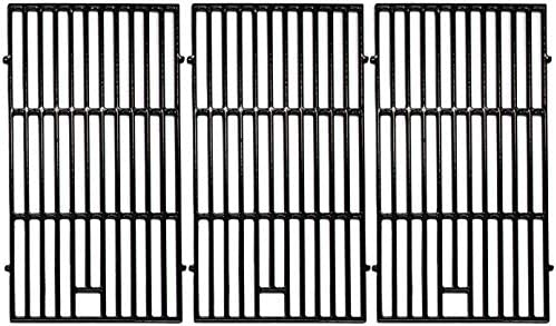 Hongso 19 1 4 Porcelain Coated Cast Iron Grill Grates Replacement for Nexgrill Brinkmann 810 product image