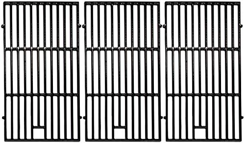 Votenli C6522C(3-Pack) Cast Iron Cooking Grid Grates Replacement for Brinkmann 810-8500-S, 810-8501-S, 810-8502-S, Charmglow 720-0396, 720-0536, 720-0578, 810-8500-S, Jenn-Air 720-0337 Grill