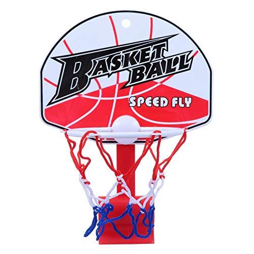 WINOMO Basketballkorb Clip Kunststoff Basketball Mülleimer Kleiner Basketball Board Clip für Home Office Abfallkorb Mülleimer