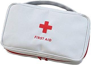 en camping en randonn/ée en bateau Aoutacc Trousse de premiers secours vide en nylon compact et l/éger pour les urgences /à la maison sac uniquement au bureau en voiture en plein air