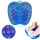 VITOP フットブラシ 足洗いマット 磁石付き 滑り止め吸盤付き 角質除去 足のツボ 足 ブラシ