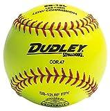 Dudley 12' Spalding SB12L Cork Center .47 COR ASA Yellow Softballs from (One Dozen)
