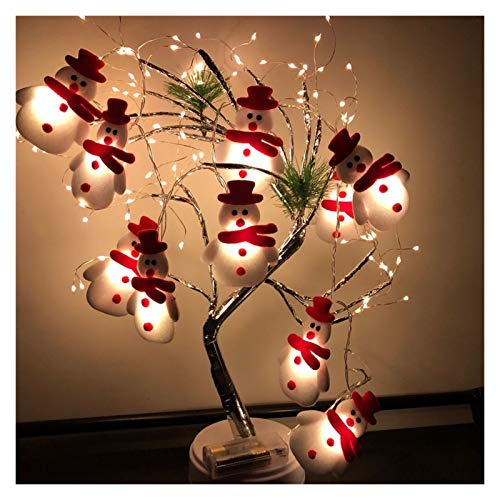 CML Top Selling Product in 2020 LED Christmas Snowman Strings Christmas Tree Holiday Party Decoration Lantern (Color : A, Size : AS Shown)