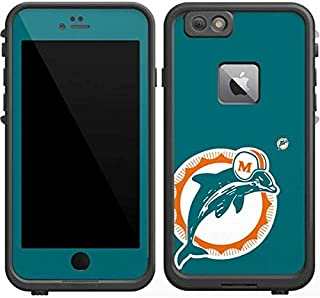 Skinit Decal Skin for LifeProof Fre iPhone 6/6s Plus - Officially Licensed NFL Miami Dolphins Retro Logo Design