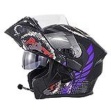 Best Modular Snowmobile Helmets - Modular Bluetooth Motorcycle Helmets, DOT Approved Flip Up Review