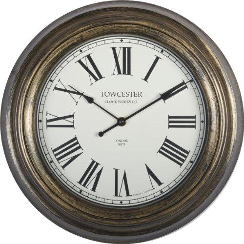 Acctim Towcester 21918 Consett 355mm - Horloge murale bronze patiné 355mm