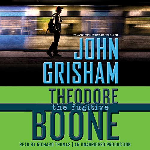 Theodore Boone: The Fugitive audiobook cover art