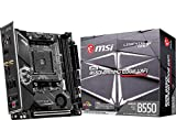 MSI MPG B550I GAMING EDGE WIFI マザーボード Mini-ITX [AMD B550 チップセット搭載] MB5027
