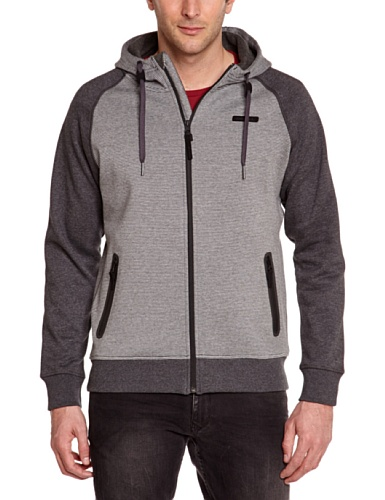 O'NEILL LM No Comply Sweat-Shirt à Capuche Homme, Black AOP, FR : S (Taille Fabricant : S)
