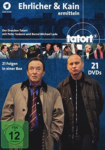 Tatort Dresden - Ehrlicher & Kain ermitteln [21 DVDs]