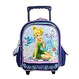 Tinkerbell Navy Blue Toddler Wheeled Backpack Rolling Travel Bag