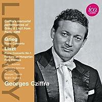 Grieg/ Liszt: Piano Concertos (Paris 1959) (Georges Cziffra/ Orchestre National de l'ORTF/ Georges Tzipine/ Andre Cluytens) (ICA Classics: ICAC 5079) by Georges Cziffra (2012-09-27)