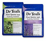 Dr Teal's Epsom Salt Bath Soaking Solution, Eucalyptus and Lavender, 2...
