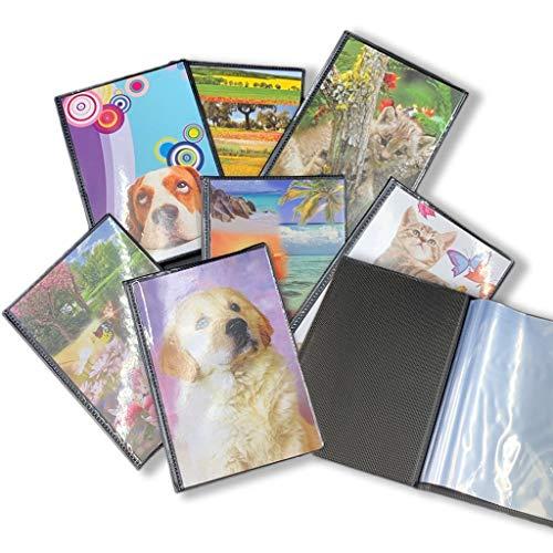 instantstore Lotto 12 Album per 432 Foto 10x15 (1 Album = 36 Foto) Set di 12 Pezzi con Copertina Morbida Vari Colori e Fantasie assortite
