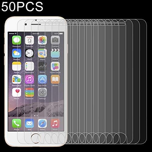 Nieuwe Tangyong CL 50 stuks for iPhone 8 & iPhone 7 0.26mm 9H Hardheid van de oppervlakte 2.5D explosieveilige gehard glas niet-volledig scherm Speelfilm, Zonder Retail Pakket
