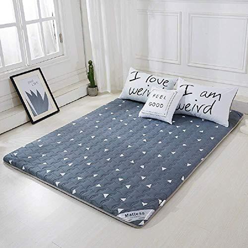 WENZHEN Cama Colchon,Impermeable Tatami Floor Mat Funda Impermeable para colchón Protector Antideslizante para colchón Twin Full Queen King-si_120x190 cm (47x75 Pulgadas)