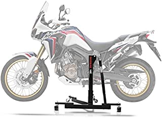 Color : Red Extension Support moto B/équille Pied lat/éral Pad Support plaque Pour Honda CRF CRF1000L 1000L Africa Twin ABS//TCD 2016 2017