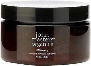 John Masters Organics Relaxing Body Scrub, Lavender & Palmarosa, 136.2g