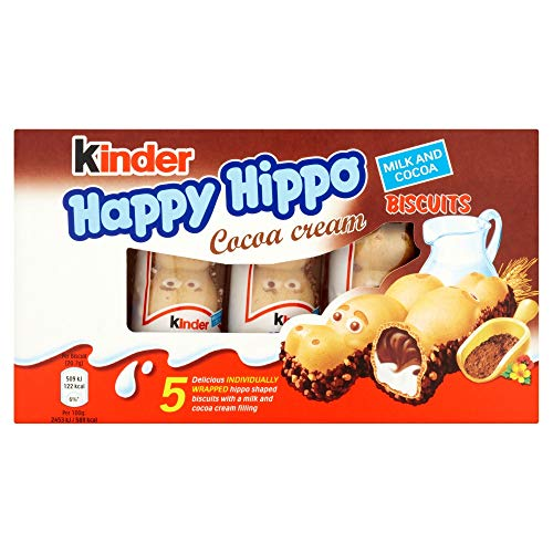 Ferrero Rocher Kinder Hippo-Cocoa Bars, 5 Count
