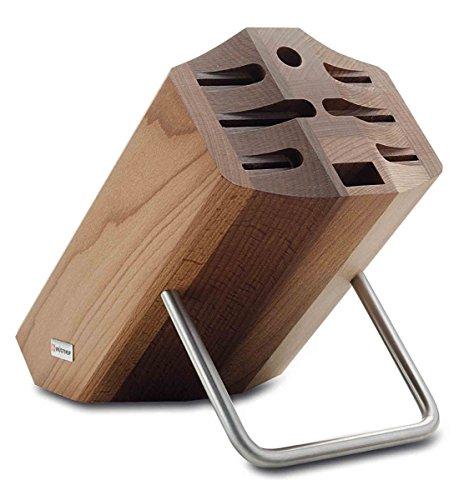 WÜSTHOF Messerblock, Holz, thermobuche, 33.2 x 23.5 x 16.4 cm