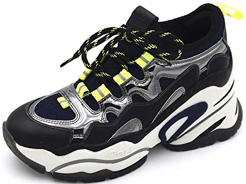 ASH | Bird | Sneaker - schwarz | Black, Farbe:schwarz, Größe:39