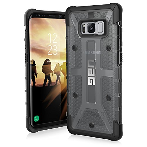 UAG Samsung Galaxy S8+ [6.2-inch screen] Plasma Feather-Light Rugged [ASH] Military Drop Tested Phone Case