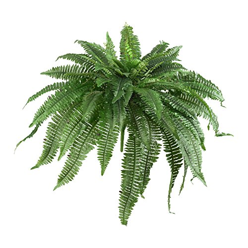 "Nearly Natural 6051-S2 48"" Boston Fern (Set of 2), 2 Piece,Green"