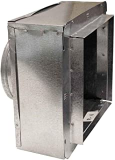 Master Flow 10 in. x 8 in. to 8 in. Insulated Register Box with Flange R-6