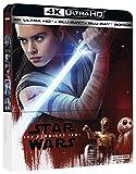 Star Wars : Les Derniers Jedi - Steelbook UHD 4K + Blu-ray 2D + Blu-ray Bonus [4K Ultra HD + Blu-ray + Blu-ray bonus - Édition boîtier SteelBook]